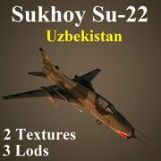 SU22 UZB 3d model