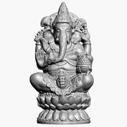 Ganesha Statue 2 Raw Scan 3d model
