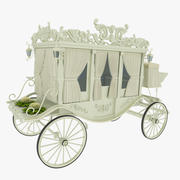 Wedding Carriage 3d model