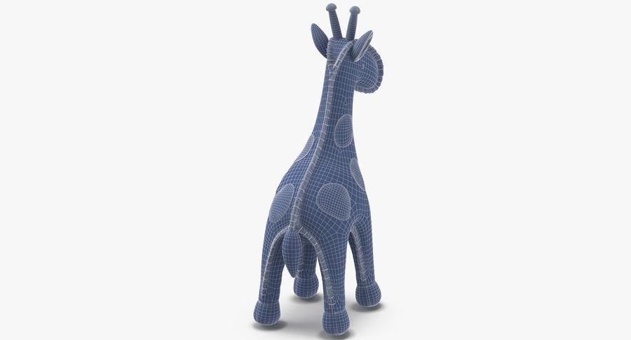 Fylld giraff royalty-free 3d model - Preview no. 15