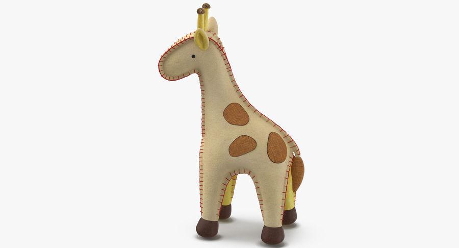 Fylld giraff royalty-free 3d model - Preview no. 8