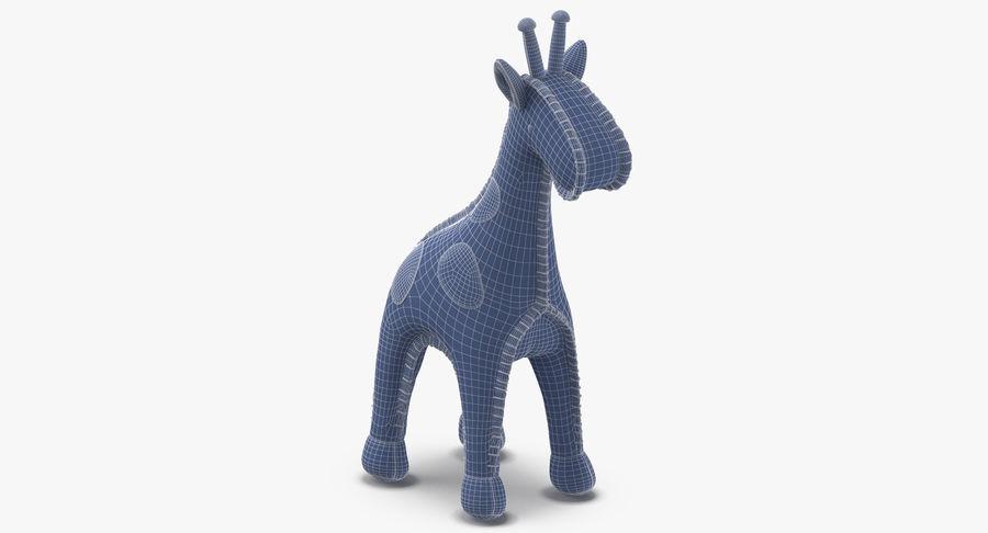 Fylld giraff royalty-free 3d model - Preview no. 10