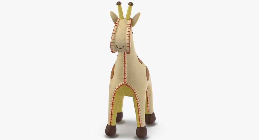 Fylld giraff royalty-free 3d model - Preview no. 6