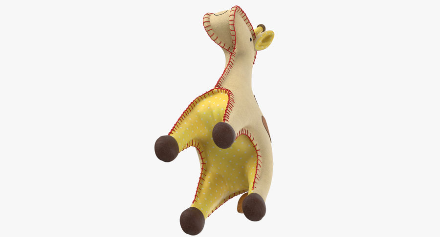 Fylld giraff royalty-free 3d model - Preview no. 9