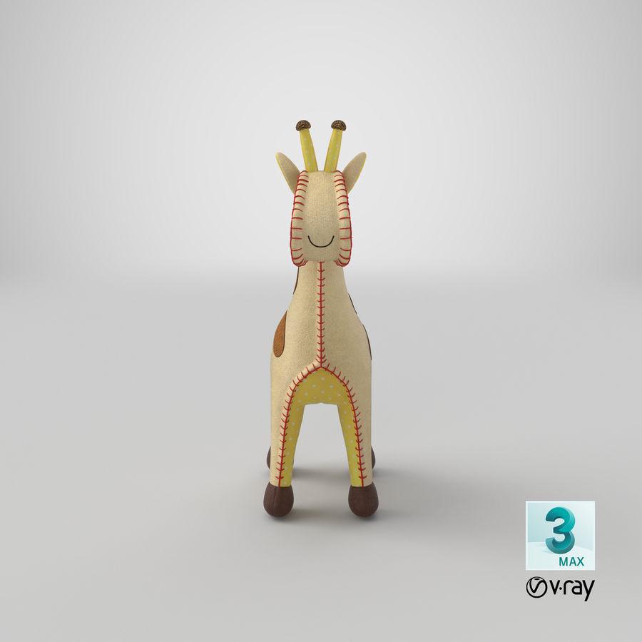Fylld giraff royalty-free 3d model - Preview no. 22