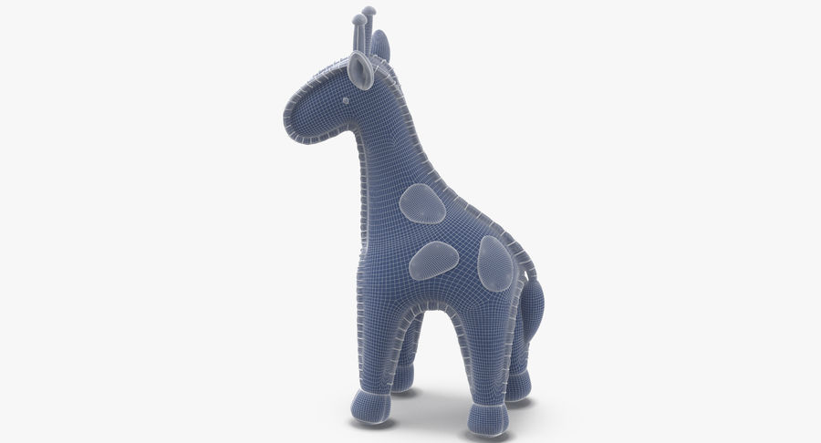 Fylld giraff royalty-free 3d model - Preview no. 13