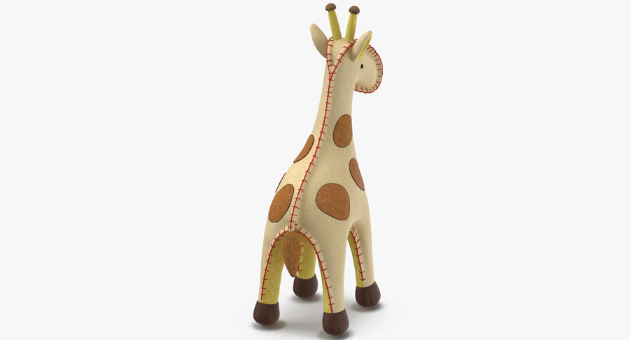 Fylld giraff royalty-free 3d model - Preview no. 4