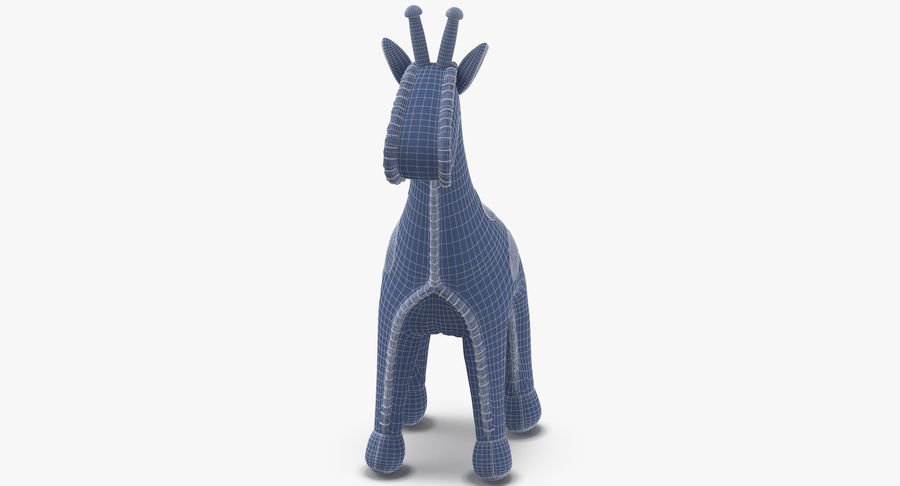 Fylld giraff royalty-free 3d model - Preview no. 16