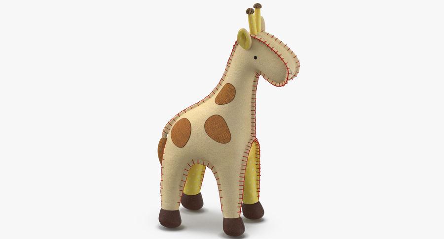 Fylld giraff royalty-free 3d model - Preview no. 5