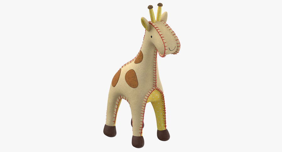 Fylld giraff royalty-free 3d model - Preview no. 2