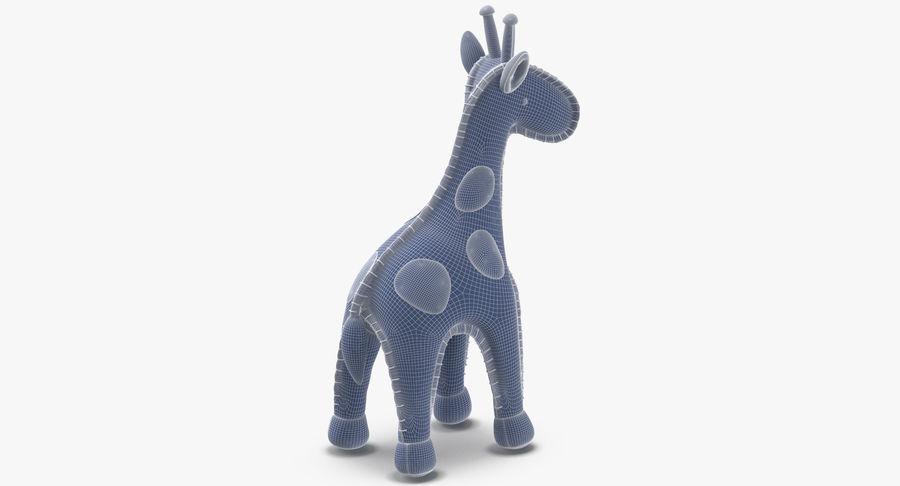 Fylld giraff royalty-free 3d model - Preview no. 12