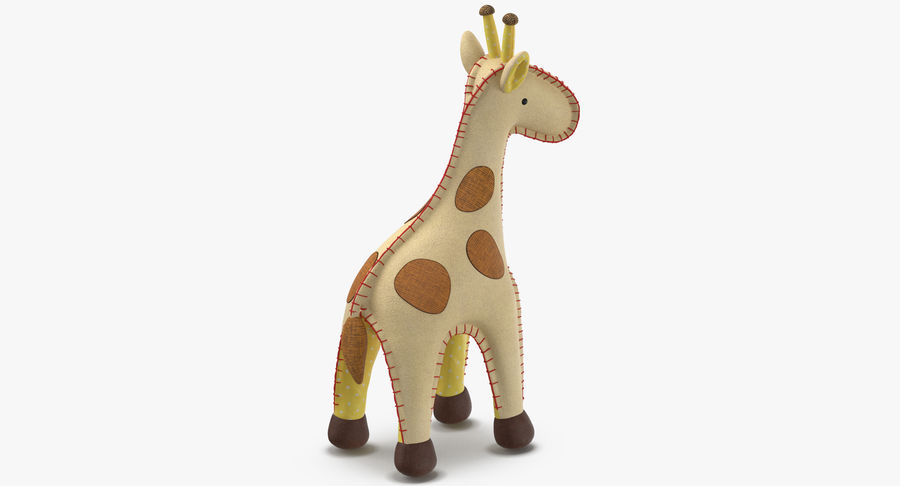 Fylld giraff royalty-free 3d model - Preview no. 7