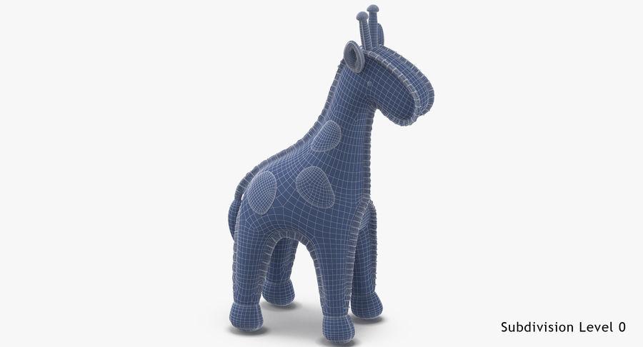 Fylld giraff royalty-free 3d model - Preview no. 17