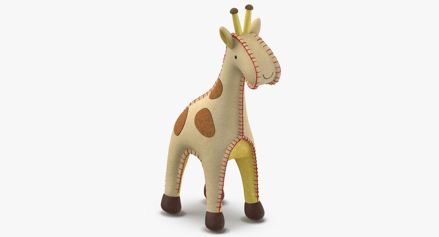 Fylld giraff royalty-free 3d model - Preview no. 3