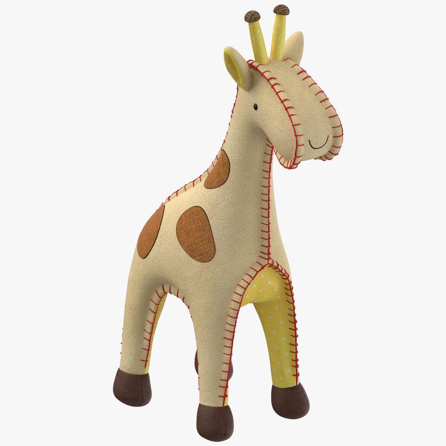 Fylld giraff royalty-free 3d model - Preview no. 1