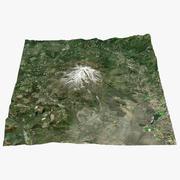 Mount Shasta Real Color 3d model