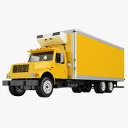 トラックインターナショナル4700ボックストラック02 3d model