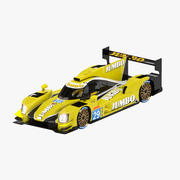 Racing Team Nederland's Dallara P217-Gibson 3d model