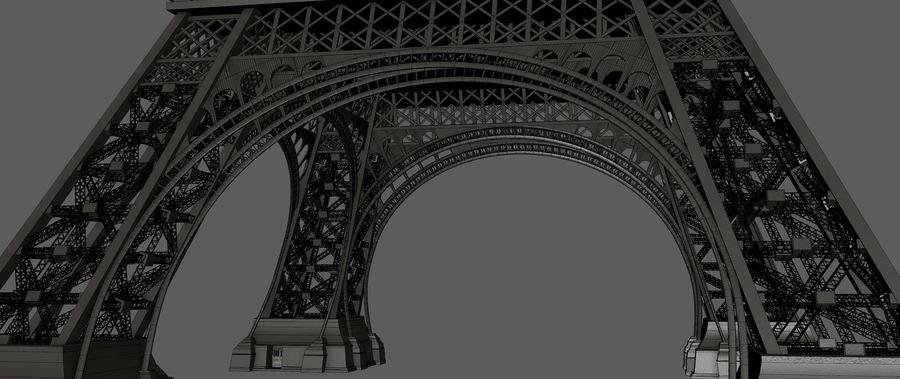 Tour Eiffel (Eiffel Tower), Paris royalty-free 3d model - Preview no. 19