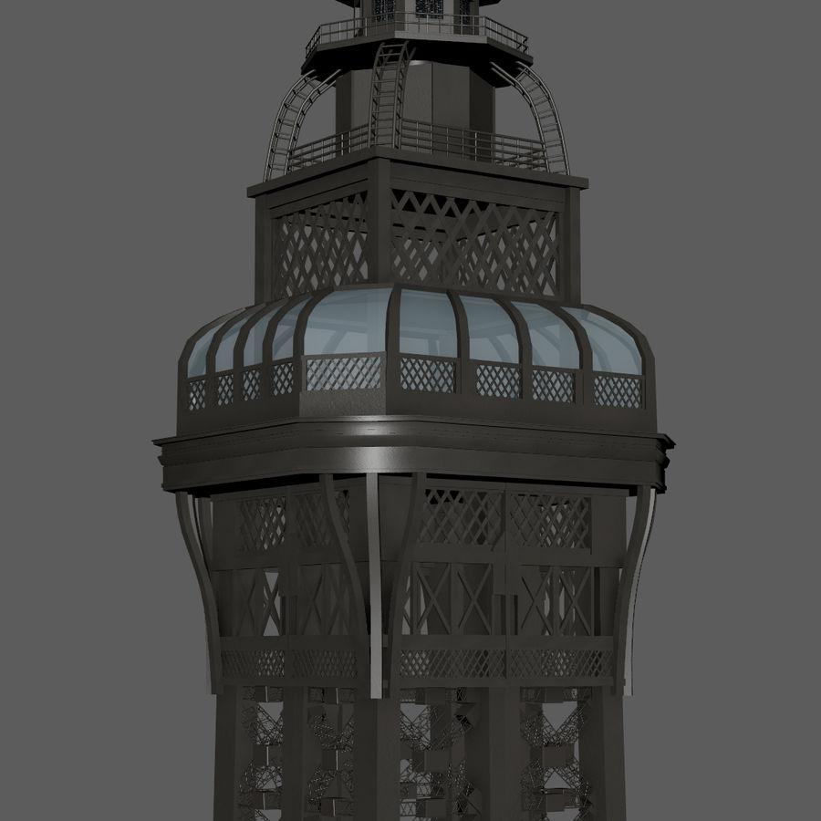 Tour Eiffel (Eiffel Tower), Paris royalty-free 3d model - Preview no. 17