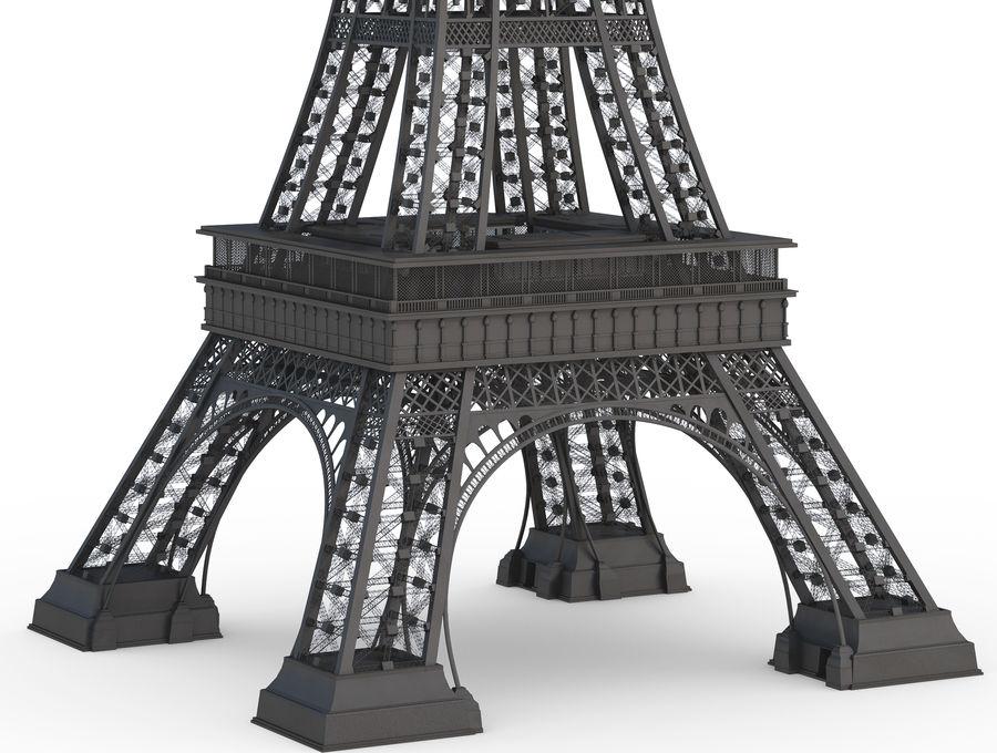 Tour Eiffel (Eiffel Tower), Paris royalty-free 3d model - Preview no. 3