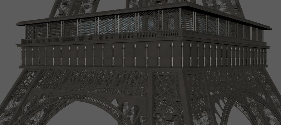 Tour Eiffel (Eiffel Tower), Paris royalty-free 3d model - Preview no. 13