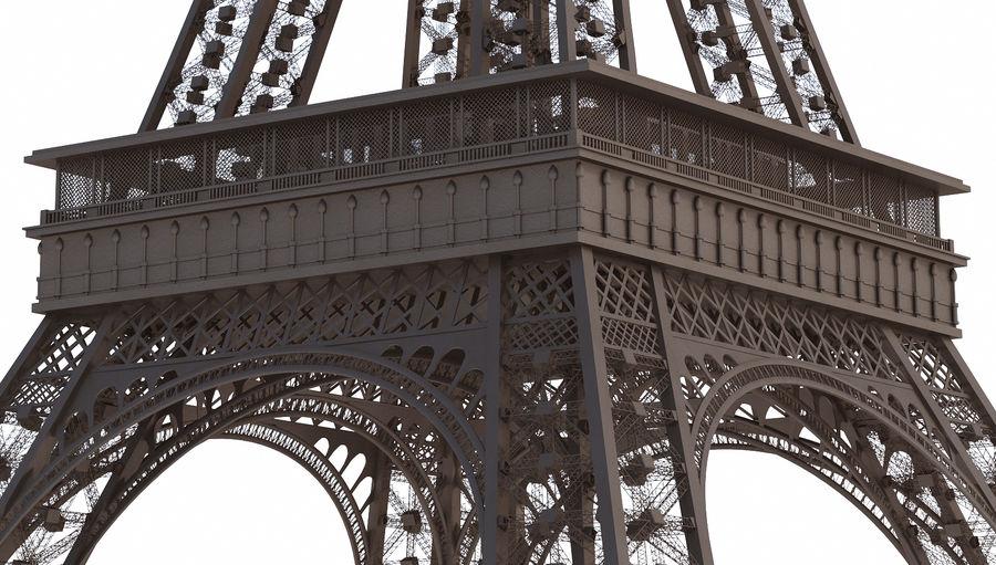 Tour Eiffel (Eiffel Tower), Paris royalty-free 3d model - Preview no. 5