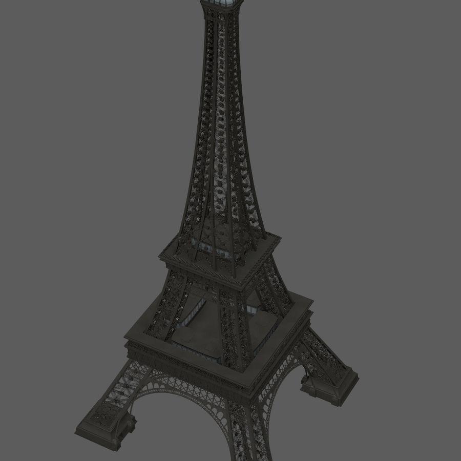 Tour Eiffel (Eiffel Tower), Paris royalty-free 3d model - Preview no. 22