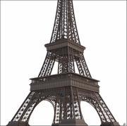 Tour Eiffel (Eiffel Tower), Paris 3d model