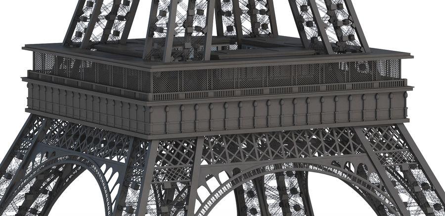 Tour Eiffel (Eiffel Tower), Paris royalty-free 3d model - Preview no. 8