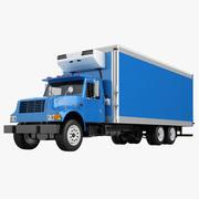 トラックインターナショナル4700ボックストラック03 3d model
