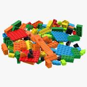 Lego Bricks 3d model
