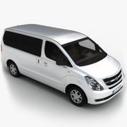 Hyundai Starex 3d model