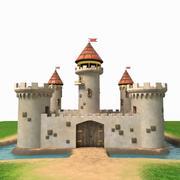 Castle Cartoon 3d model