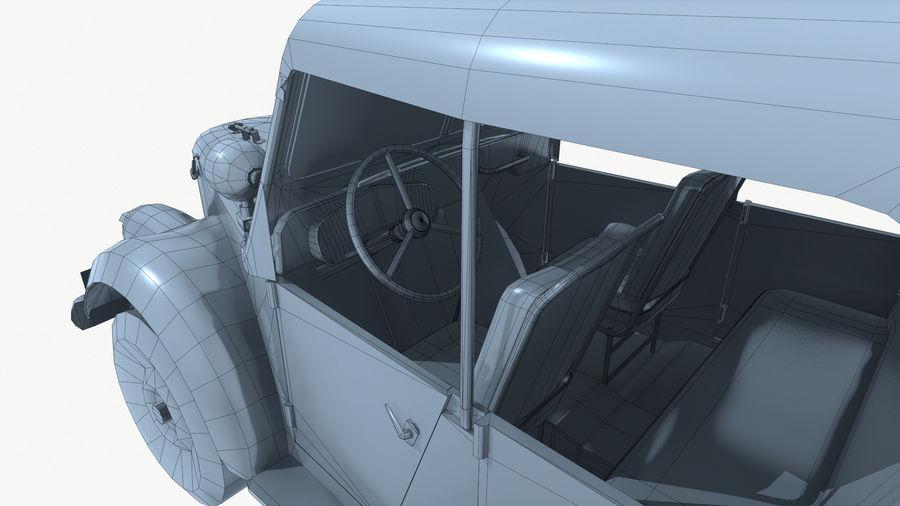 Gaz 69A royalty-free 3d model - Preview no. 17