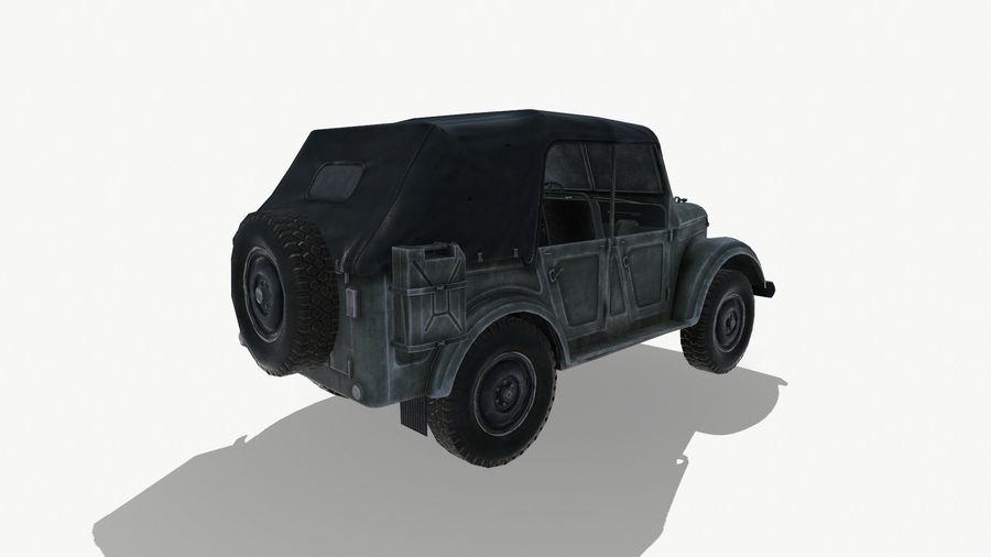 Gaz 69A royalty-free 3d model - Preview no. 7