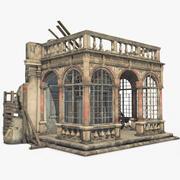 Renaissance Castle Ruined 3d model