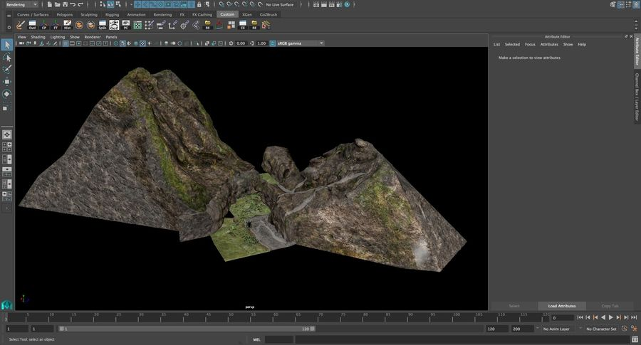 Виртуальная Атлантида royalty-free 3d model - Preview no. 25