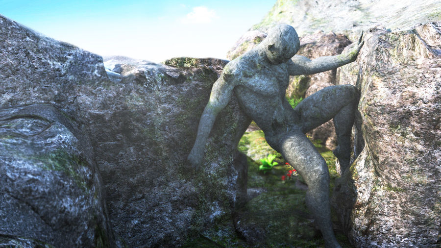 Виртуальная Атлантида royalty-free 3d model - Preview no. 21