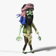 Zombie Osama Bin Laden 3d model