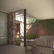 Modern House A modelo 3d