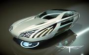 \\T// Hover Car 21 3d model