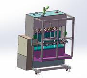 Filling machine 3d model
