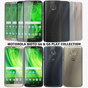 Motorola Moto G6 & G6 Play Collection 3d model