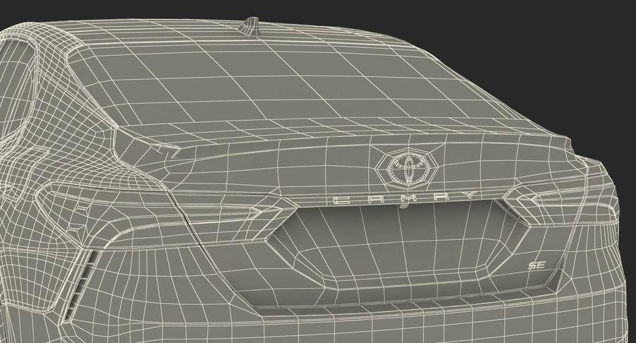 도요타 캠리 간단한 인테리어 royalty-free 3d model - Preview no. 43