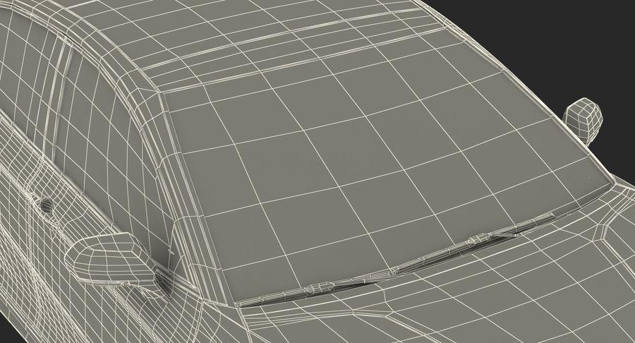 도요타 캠리 간단한 인테리어 royalty-free 3d model - Preview no. 36