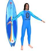 Surfer N3 modelo 3d