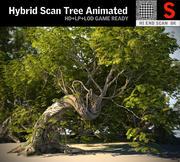 Drzewo animowane 3d model