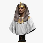 faraón modelo 3d