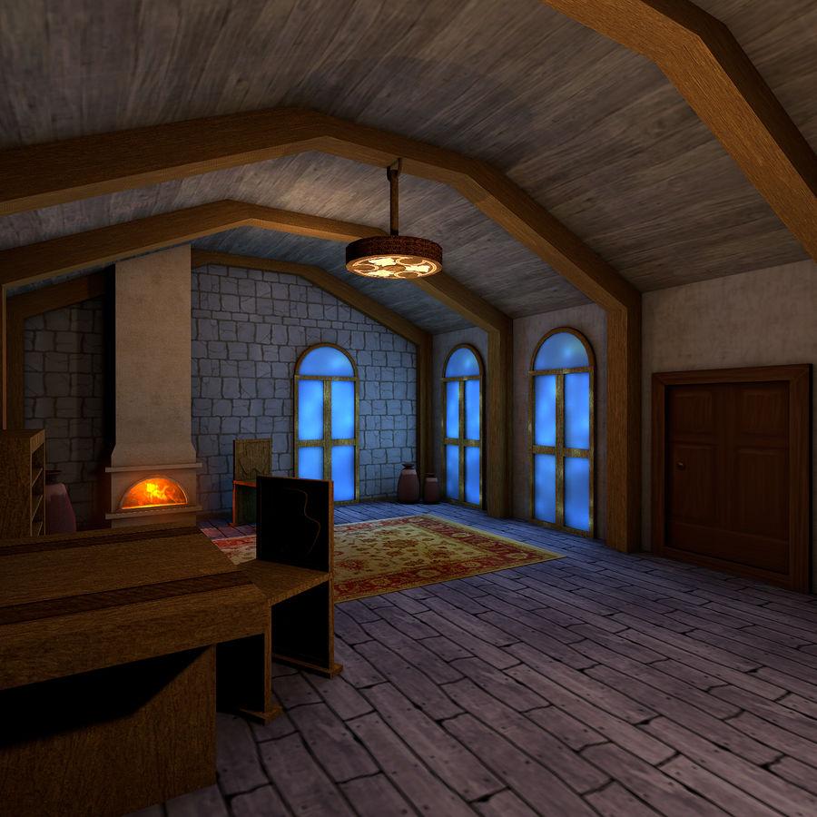 Medieval Living Room Interior 3D Model $99 - .c4d - Free3D